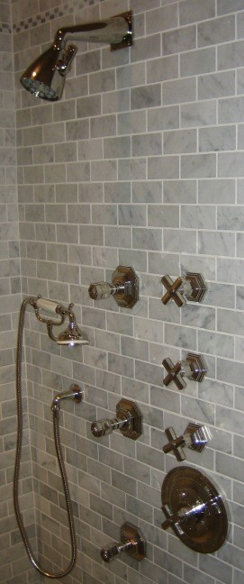 Central Park West: Shower